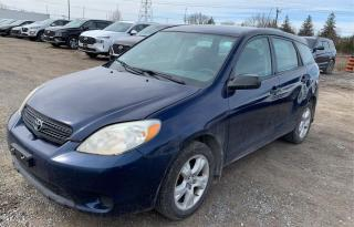 Used 2005 Toyota Matrix XR for sale in Hamilton, ON
