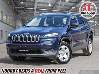 Used 2015 Jeep Cherokee Sport for sale in Mississauga, ON