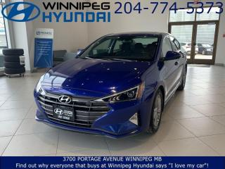 Used 2019 Hyundai Elantra Preferred for sale in Winnipeg, MB