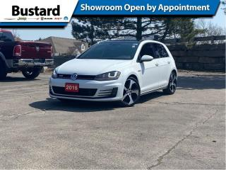 Used 2016 Volkswagen Golf GTI 5dr HB Man Autobahn | Leather | Sunroof for sale in Waterloo, ON