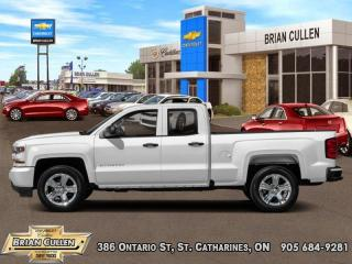 Used 2018 Chevrolet Silverado 1500 Custom  - Certified for sale in St Catharines, ON