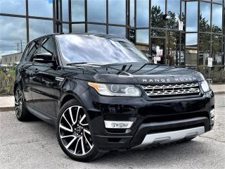 Used 2017 Land Rover Range Rover Sport HSE|HUD|PANORAMIC|AIR SUSPENSION|WOOD TRIM INTERIOR|ALLOYS! for sale in Brampton, ON