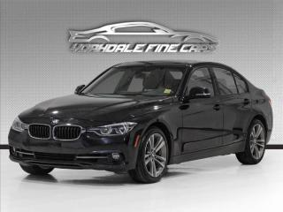 Used 2017 BMW 3 Series 330i xDrive Sport Line, Navigation, Camera, Red Interior for sale in Concord, ON