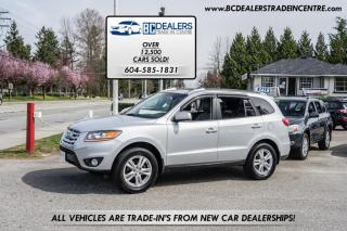 Used 2010 Hyundai Santa Fe AWD V6 SPORT, No Declarations, Bluetooth, Leather, Sunroof for sale in Surrey, BC