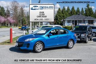 Used 2012 Mazda MAZDA3 GS-SKY, Local, No Accidents, Rare Colour, Bluetooth, Clean! for sale in Surrey, BC