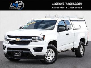 Used 2017 Chevrolet Colorado EXT CAB-BACKUP CAMERA-MATCHING CAP/LADDER RACKS for sale in Toronto, ON