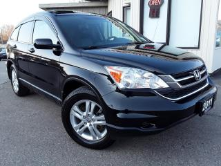 Used 2011 Honda CR-V EX-L 4WD 5-Speed AT - LEATHER! SUNROOF! BLUETOOTH! for sale in Kitchener, ON