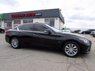 Used 2015 Infiniti Q50 AWD ACCIDENT FREE*NAVIGATION*CAMERA*CERTIFIED for sale in Milton, ON