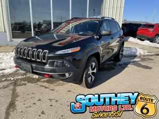 Used 2015 Jeep Cherokee Trailhawk for sale in Southey, SK
