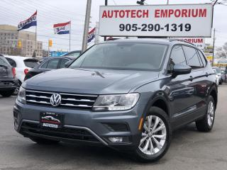 Used 2018 Volkswagen Tiguan 4Motion AWD Navigation/Camera/Heated Seats/Bluetooth for sale in Mississauga, ON