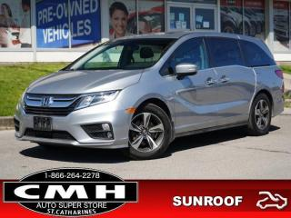 Used 2019 Honda Odyssey EX  CAM ROOF P/SEAT HTD-SEATS 18-AL for sale in St. Catharines, ON