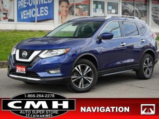 Used 2019 Nissan Rogue AWD SV  NAV CAM ROOF P/SEAT HTD-S/W 18-AL for sale in St. Catharines, ON