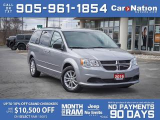 Used 2016 Dodge Grand Caravan SXT Plus Stow N' Go| DVD| LOCAL TRADE| for sale in Burlington, ON
