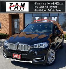 Used 2014 BMW X5 xDrive35i Fully Loaded NAVI PANO Sunroof 7 Passenger Heads Up Display for sale in North York, ON