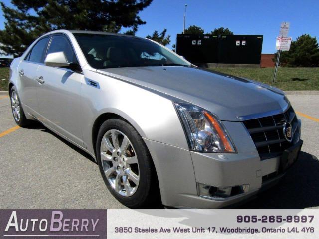 2008 Cadillac CTS 3.6L SIDI AWD Accident Free!