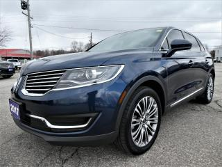 Used 2017 Lincoln MKX Reserve   Cooled Seats   Navigation   Power Lift Gate for sale in Essex, ON