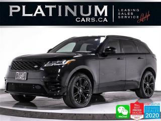 Used 2020 Land Rover Range Rover Velar P340 R-Dynamic S, V6 35HP, CAM, NAV, PANO, HEATED for sale in Toronto, ON