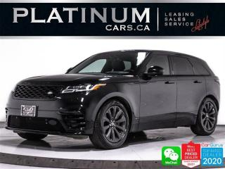 Used 2020 Land Rover Range Rover Velar P300 R-Dynamic S, NAV, PANO, HEATED/VENTED, CAM,BT for sale in Toronto, ON