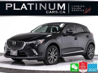 Used 2016 Mazda CX-3 Grand Touring, AWD, NAV, CAM, HEATED, BT, BOSE for sale in Toronto, ON