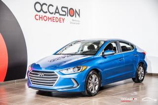 Used 2018 Hyundai Elantra GL+VOLANT/SIEGES CHAUFFANTS+CAMERA DE RECUL for sale in Laval, QC