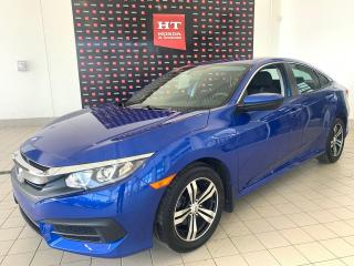 Used 2016 Honda Civic LX bas kilométrage certifié for sale in Terrebonne, QC