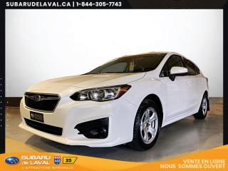 Used 2018 Subaru Impreza 2.0i Commodité Hatchback Awd *Bluetooth* for sale in Laval, QC