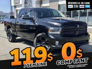 Used 2015 RAM 1500 SPORT  ''GPS  TOIT OUVRANT'' for sale in Ste-Marie, QC