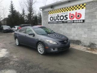 Used 2009 Mazda MAZDA6 Berline 4 portes 4 cyl. en ligne, Automa for sale in Laval, QC