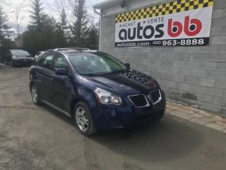 Used 2010 Pontiac Vibe Automatique-AWD-4x4 for sale in Laval, QC