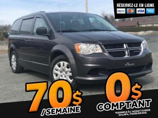 Used 2016 Dodge Grand Caravan SXT STOW' N GO BLUETOOTH A/C for sale in St-Malachie, QC