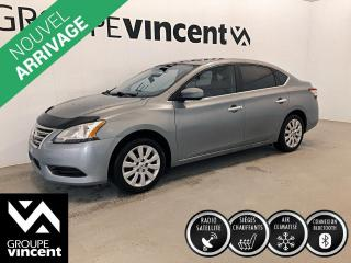 Used 2013 Nissan Sentra SV ** GARANTIE 10 ANS ** Berline fiable, économique et logeable! for sale in Shawinigan, QC