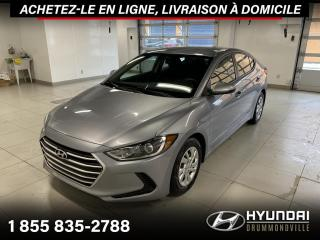 Used 2017 Hyundai Elantra LE + GARANTIE + 26 804 KM + A/C + WOW !! for sale in Drummondville, QC