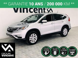 Used 2016 Honda CR-V EX AWD ** GARANTIE 10 ANS ** Faible kilométrage, à voir! for sale in Shawinigan, QC