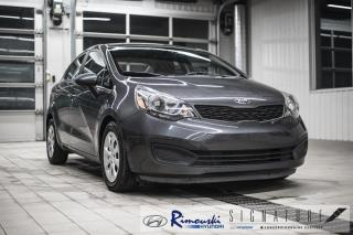 Used 2014 Kia Rio LX+ chez Rimouski Hyundai for sale in Rimouski, QC