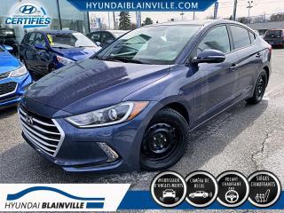 Used 2017 Hyundai Elantra GL APPLE CARPLAY, VOLANT CHAUFFANT, A/C for sale in Blainville, QC