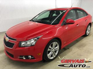 Used 2014 Chevrolet Cruze 2LT RS MAGS CUIR TOIT CAMÉRA for sale in Trois-Rivières, QC