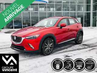 Used 2016 Mazda CX-3 GT AWD ** GARANTIE 10 ANS ** Look sportif, conduite dynamique! for sale in Shawinigan, QC