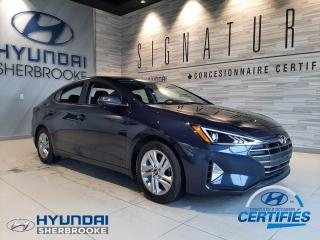 Used 2020 Hyundai Elantra PREFERRED CAMERA BANCS/VOLANT CHAUFF for sale in Sherbrooke, QC