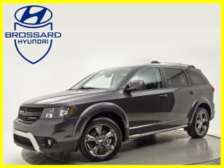 Used 2014 Dodge Journey FWD  CROSSROAD A/C BLUETOOTH SIÈGES CHAUFFANTS for sale in Brossard, QC