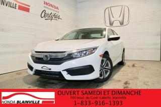 Used 2018 Honda Civic LX for sale in Blainville, QC
