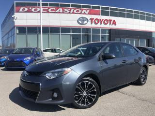 Used 2016 Toyota Corolla S **AUTO/CUIR/TOIT/MAGS/CAMERA** for sale in St-Eustache, QC