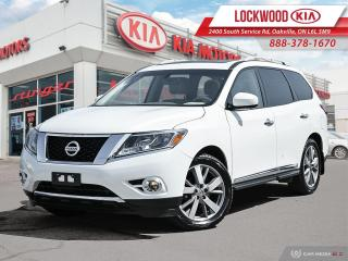 Used 2014 Nissan Pathfinder 4WD 4dr Platinum - DUL DVD | PANO ROOF for sale in Oakville, ON