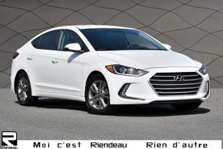 Used 2017 Hyundai Elantra GL+CAMERA + DETECTEUR ANGLE MORT for sale in Ste-Julie, QC