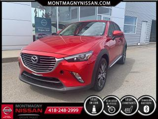 Used 2017 Mazda CX-3 Traction intégrale, 4 portes GT for sale in Montmagny, QC