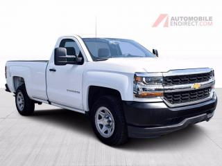Used 2016 Chevrolet Silverado 1500 Reg Cab 5.3L Boîte de 8 Pieds for sale in St-Hubert, QC
