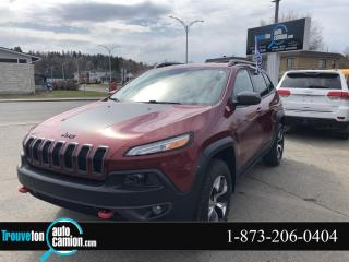 Used 2016 Jeep Cherokee Trailhawk , 4 X 4 for sale in Shawinigan, QC
