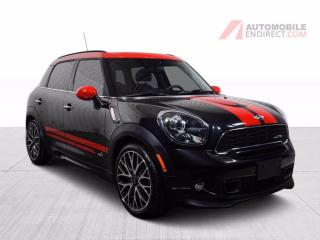 Used 2014 MINI Cooper Countryman Countryman John Cooper All 4 Cuir Toit Pano GPS for sale in St-Hubert, QC