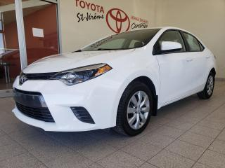 Used 2016 Toyota Corolla * LE * CAMÉRA DE RECUL *  SIÈGES CHAUFFANTS * for sale in Mirabel, QC