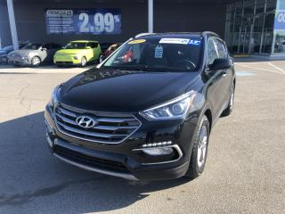 Used 2017 Hyundai Santa Fe Sport FWD 4dr 2.4L Auto,MAGS,A/C,CRUISE,BLUETOOTH for sale in Mirabel, QC