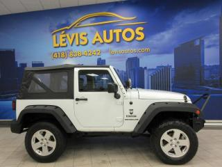 Used 2014 Jeep Wrangler SPORT 4X4 V6 3.6L MANUEL 6 VITESSES  JAM for sale in Lévis, QC